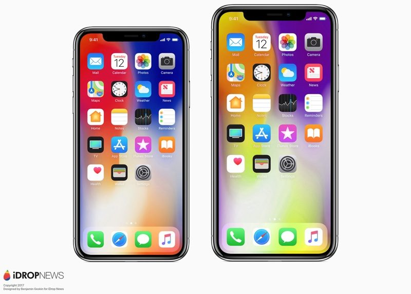 Apple's 6 5-Inch 'iPhone X Plus' Said to Have 1242 x 2688