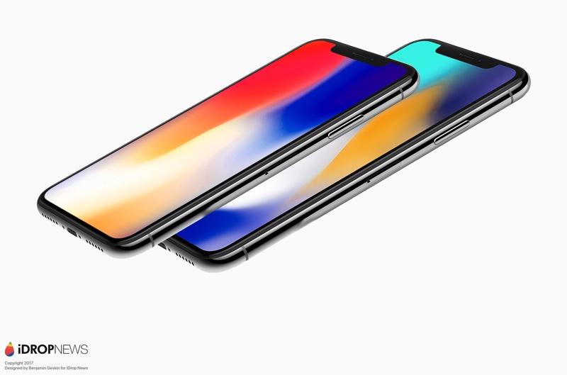 IPhone X Plus Render Via IDrop News