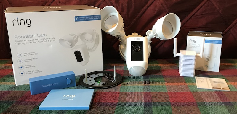 Review Ring S Floodlight Cam Offers Convenient Home