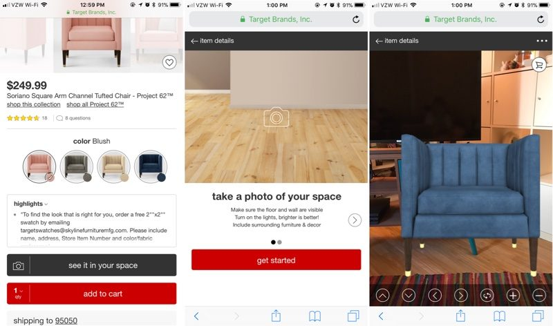 Guests Shopping The New Project 62 Line Can Use The Feature To Place  Three Dimensional Versions Of Real Target Home Products Within Photos Of  Actual Rooms ...