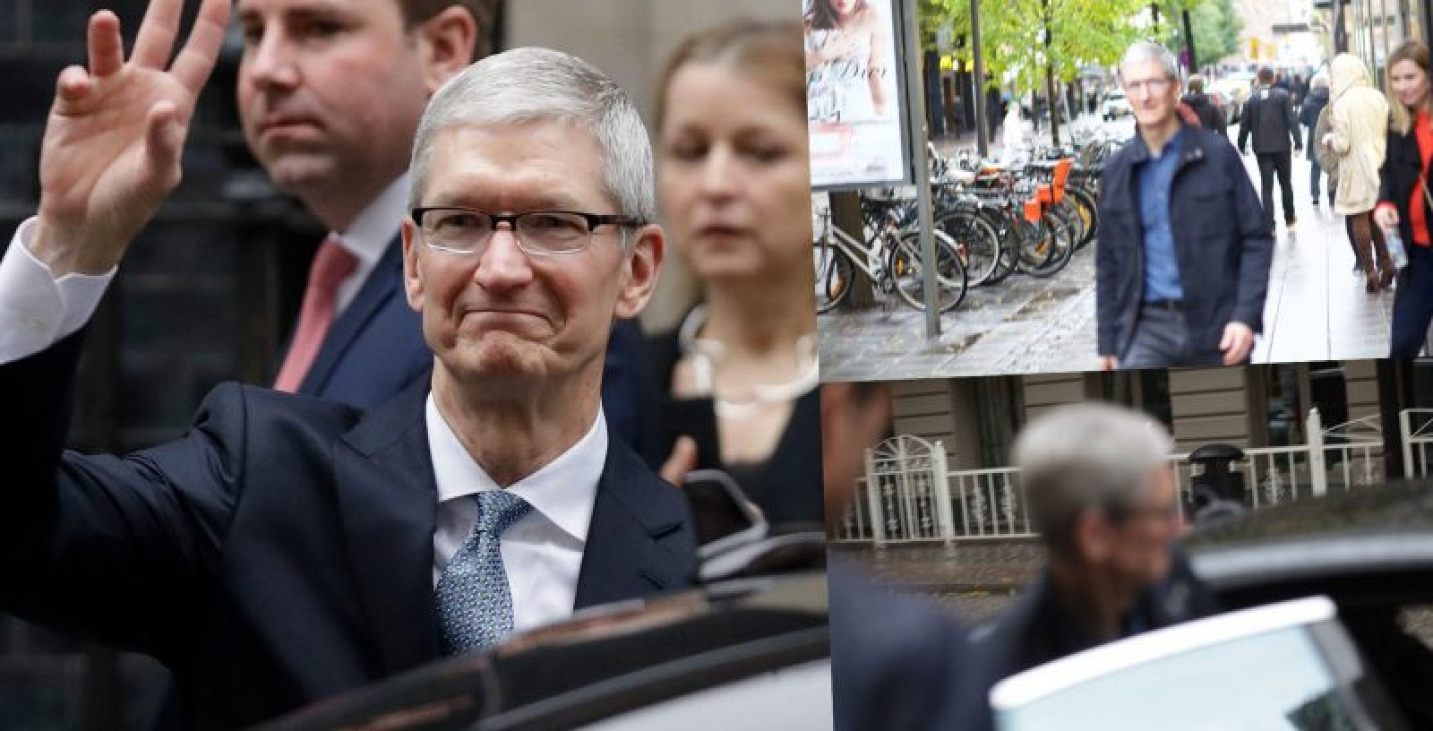 photo image Tim Cook Travels to Sweden to Visit Local Apple Office and Discuss Augmented Reality