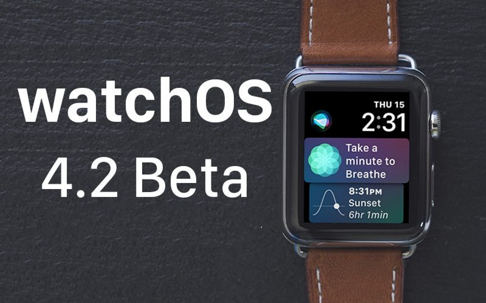 Apple Seeds Fourth Beta of watchOS 4.2 to Developers