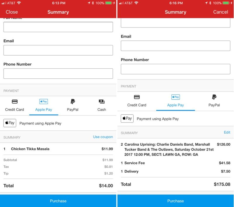 Yelp for iOS Gains Support for Apple Pay - MacRumors