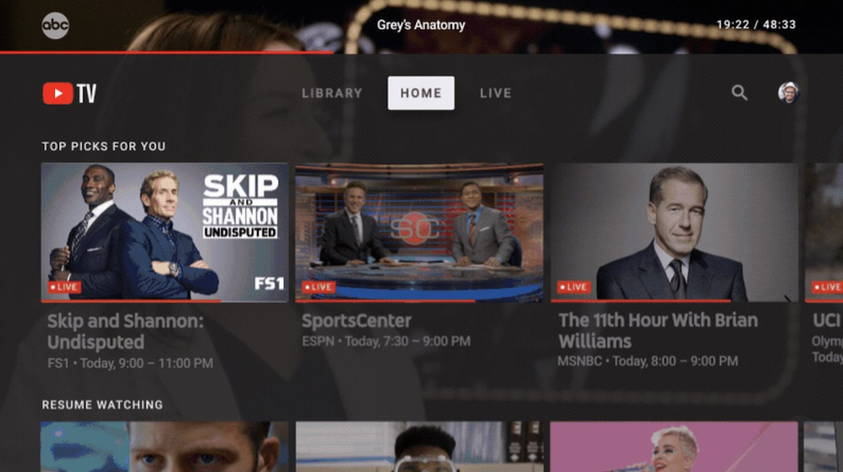 YouTube TV Announces New Smart TV App With Apple TV Support