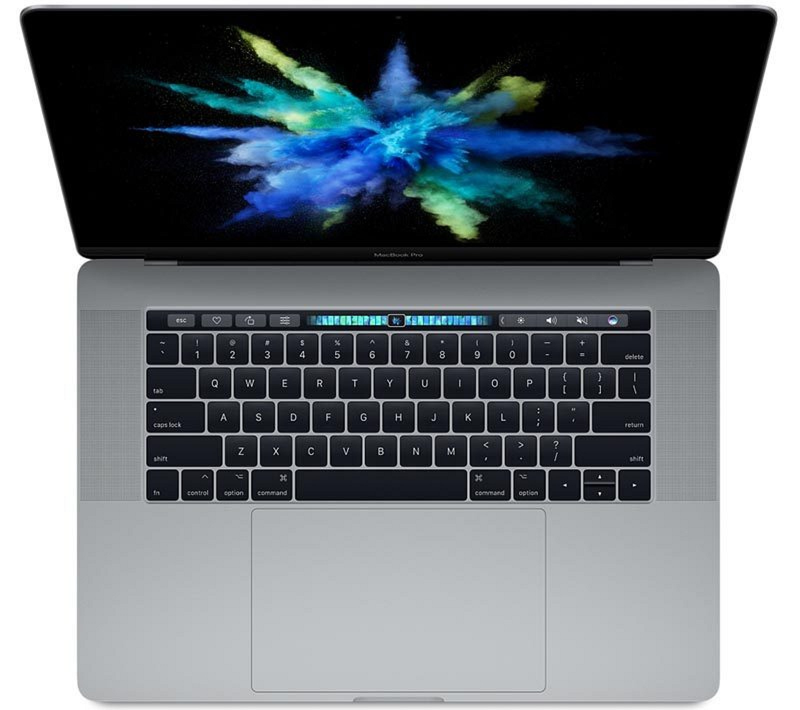 Kết quả hình ảnh cho macbook pro touch bar gris sideral