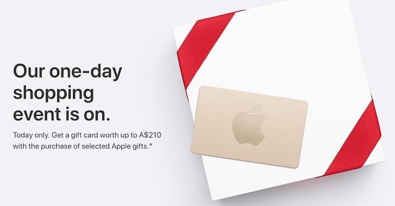 Černý pátek Applu 2017 ve znamení dárkových karet