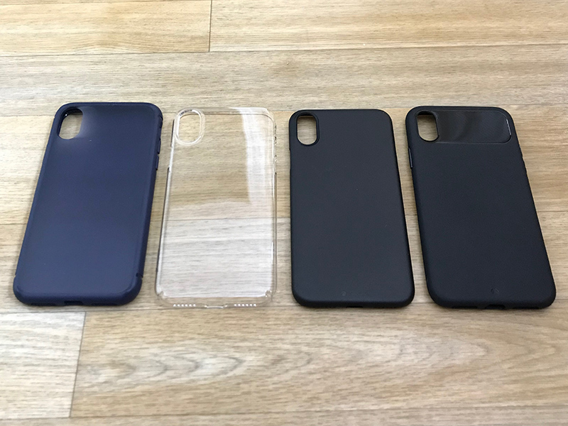 various colors 0508b 0f350 iPhone X Case Review Roundup 2: Casetify, Caudabe, and Incipio ...