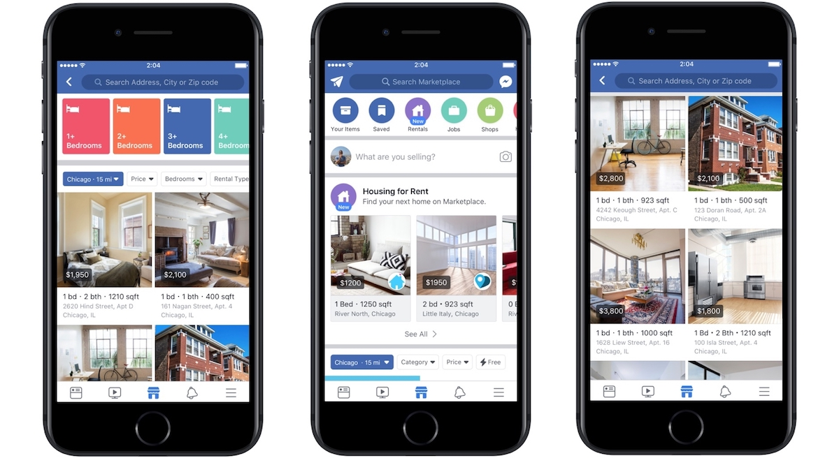 facebook expands apartment rental category in marketplace with 39 hundreds of thousands 39 of. Black Bedroom Furniture Sets. Home Design Ideas