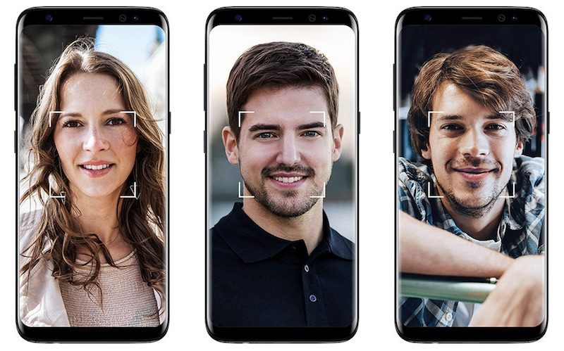 how to turn on face recognition iphone