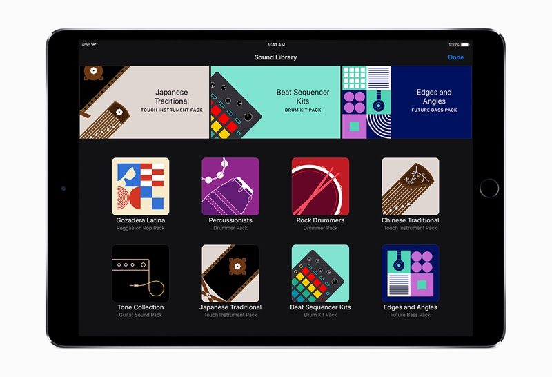 GarageBand for iOS Gains iPhone X Support, New Sound Library for