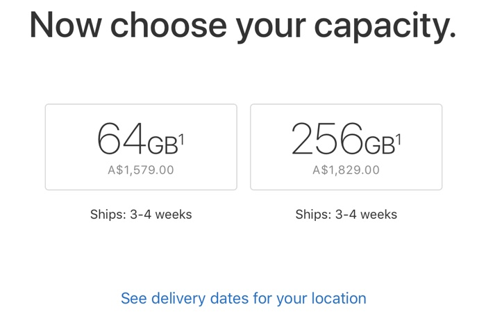 super popular 33ba5 5041b iPhone X Shipping Estimates Improve to 3-4 Weeks in Several ...