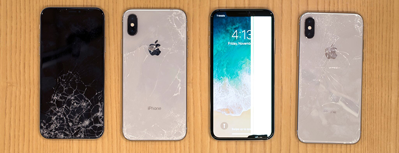 on sale aee47 f57f6 SquareTrade Says iPhone X is 'Most Breakable iPhone Ever' as Glass ...