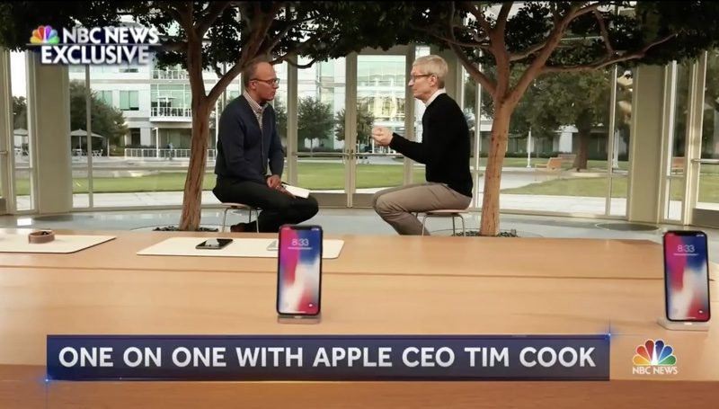 Apple CEO Tim Cook Talks Russian Election Interference, Fake
