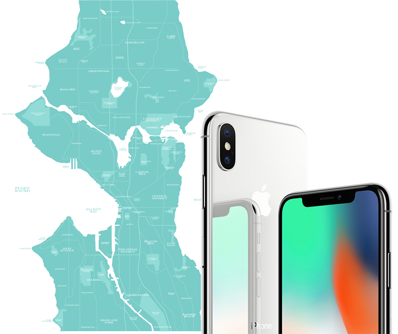 Seattle Wa Sales Tax >> Iphone X Unavailable To Walk In Customers At Apple Stores In