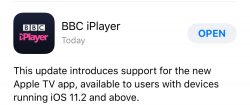 BBC iPlayer Update Hints at Imminent Release of Apple's TV