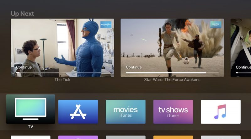 Apple and Amazon Confirm Amazon Prime Video on tvOS Supports