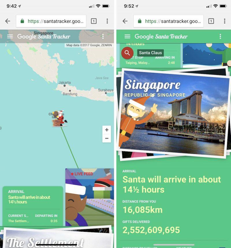 How to Track Santa's Journey Today on iPhone and iPad ... Santa Tracker Map on santa visit, santa posters, santa schedule, santa home, baseball map tracker, santa satan,