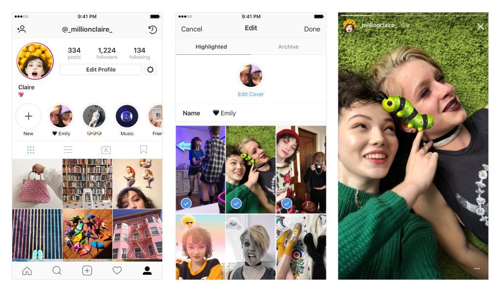 Instagram Now Lets You Highlight Your Favorite Stories Permanently