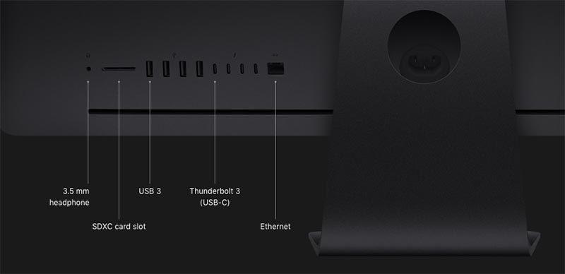 Apple iMac, pro 27' Retina 5k Z0UR/2 Black