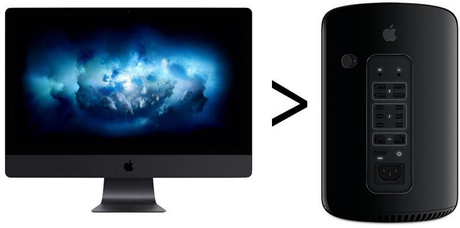 Mid Range Imac Pro Is Nearly Twice As Fast As High End K Imac And Up To  Faster Than  Mac Pro Mac Rumors