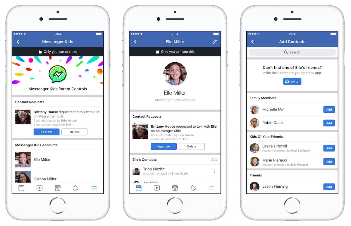 Facebook Announces Messenger App for Kids That Parents Can Remotely
