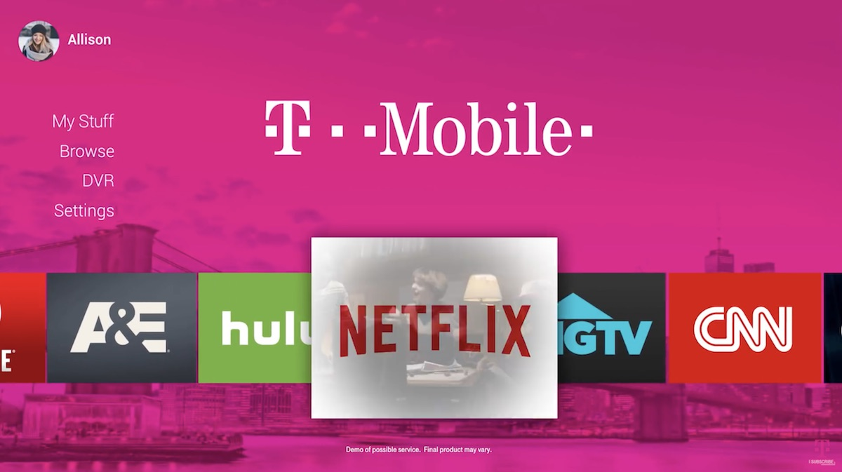 Tv And Internet Service >> T Mobile To Delay Streaming Tv Service Until 2019 Macrumors