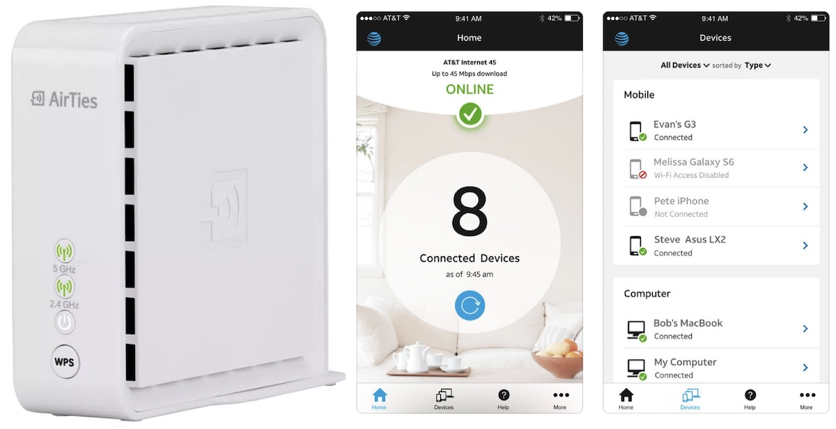 at t launches 35 smart wi fi extender to boost coverage by up to 1 000 square feet macrumors. Black Bedroom Furniture Sets. Home Design Ideas