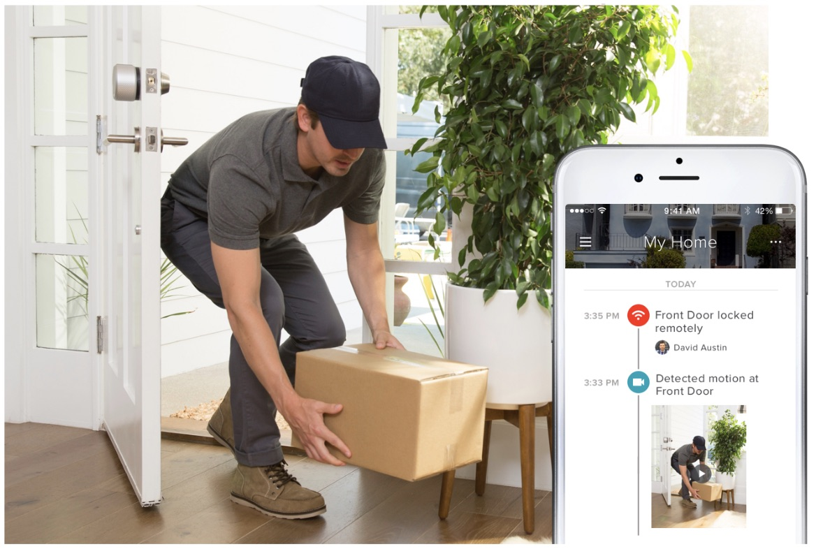 CES 2018: August Announces Expansion of In-Home Delivery Service