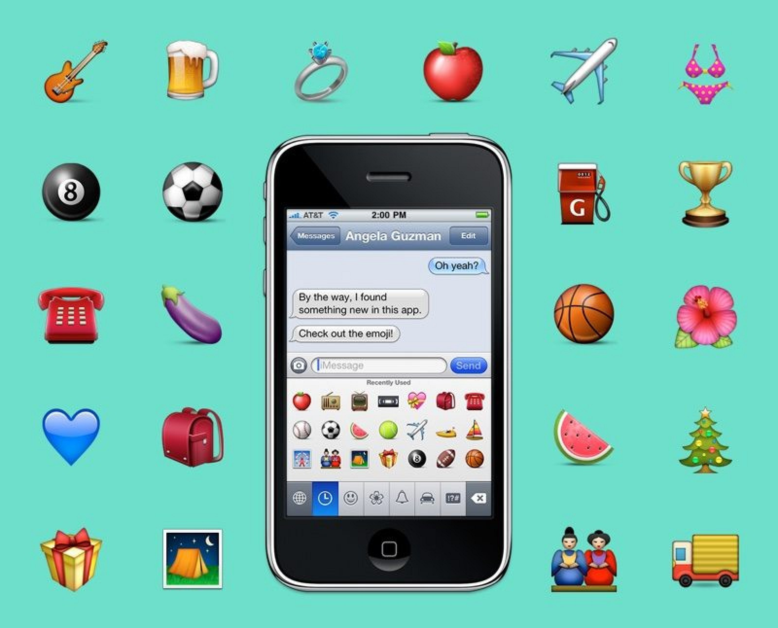 photo image Former Apple Intern Looks Back at Designing First Apple Emoji in 2008