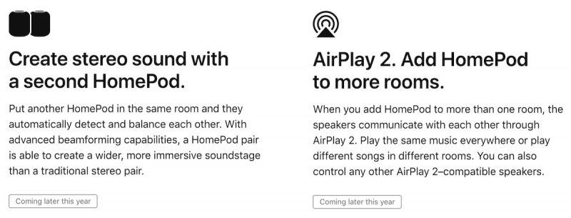 Stereo-Like Sound With HomePods Coming Before Multi-Room