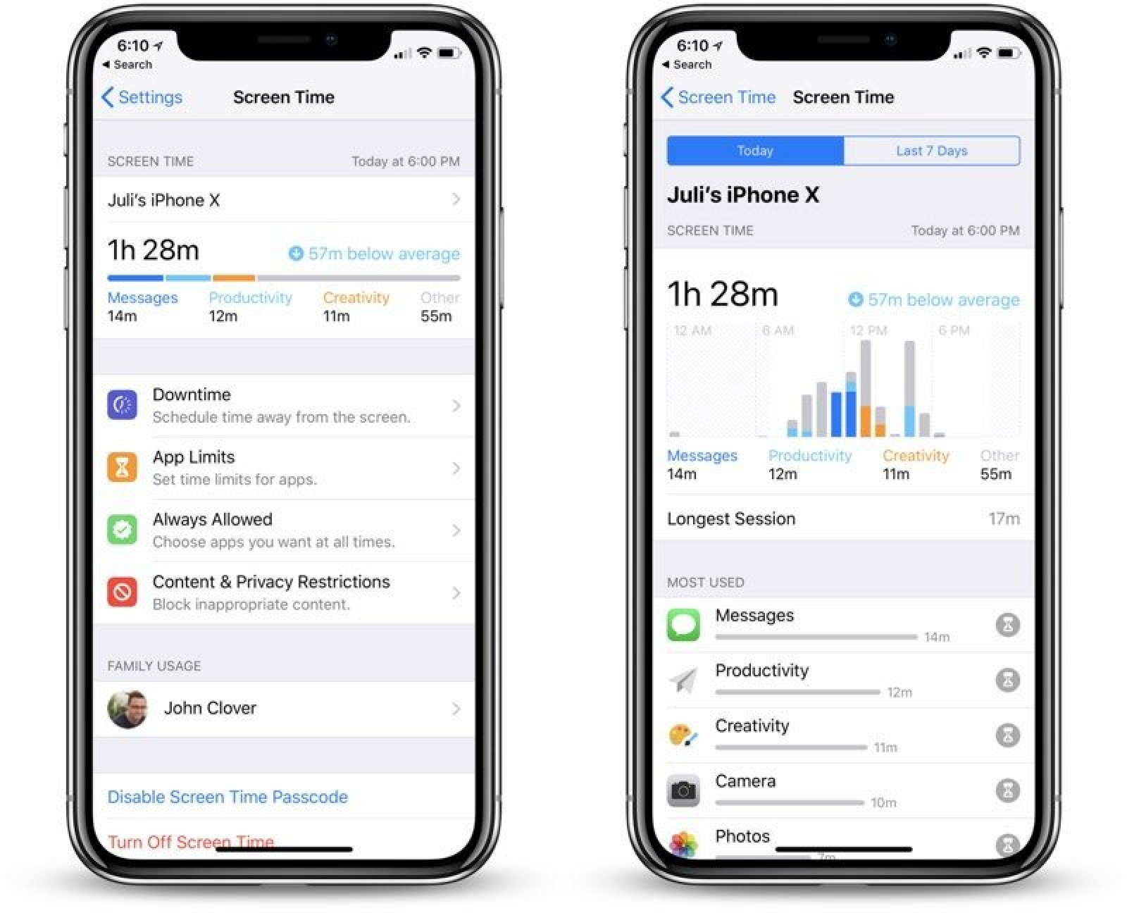 Hands On With Ios 12 S New Screen Time Feature With App