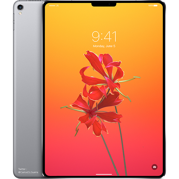 iOS 12 Changes Hint at Redesigned iPad Pros With Face ID and