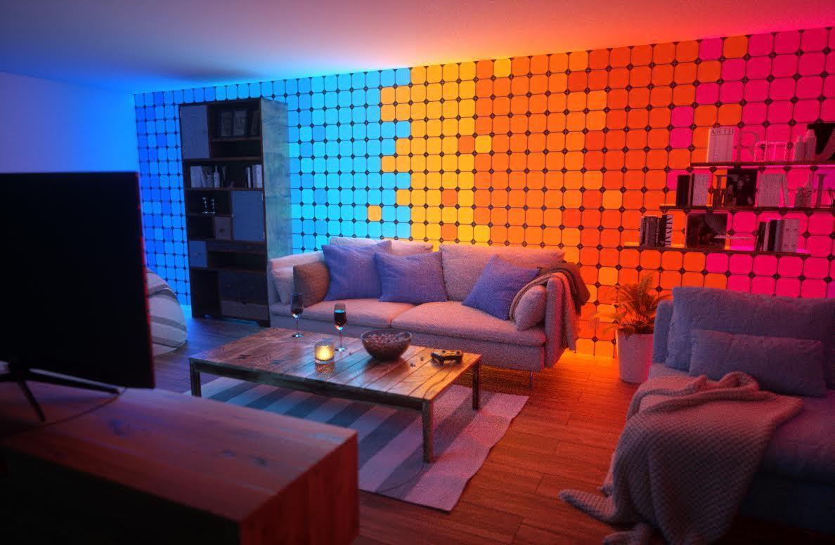 Ces 2018 Nanoleaf Creates New Square Shaped Light Panels
