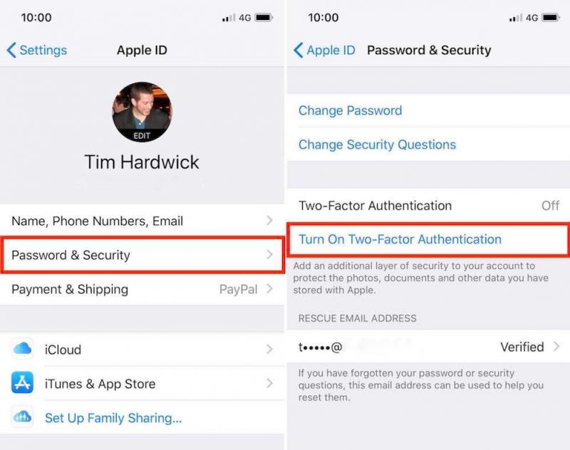 How to Secure Your Apple ID Using Two-Factor Authentication