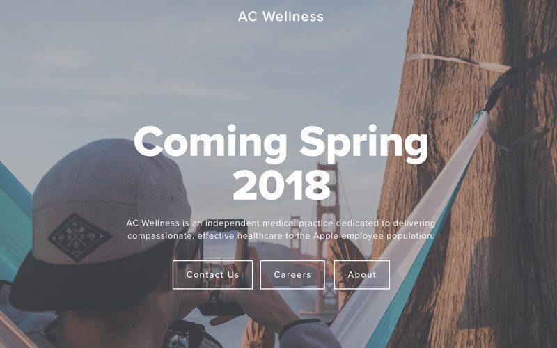 Apple se chystá otevřít dvě zdravotní zařízení AC Wellness