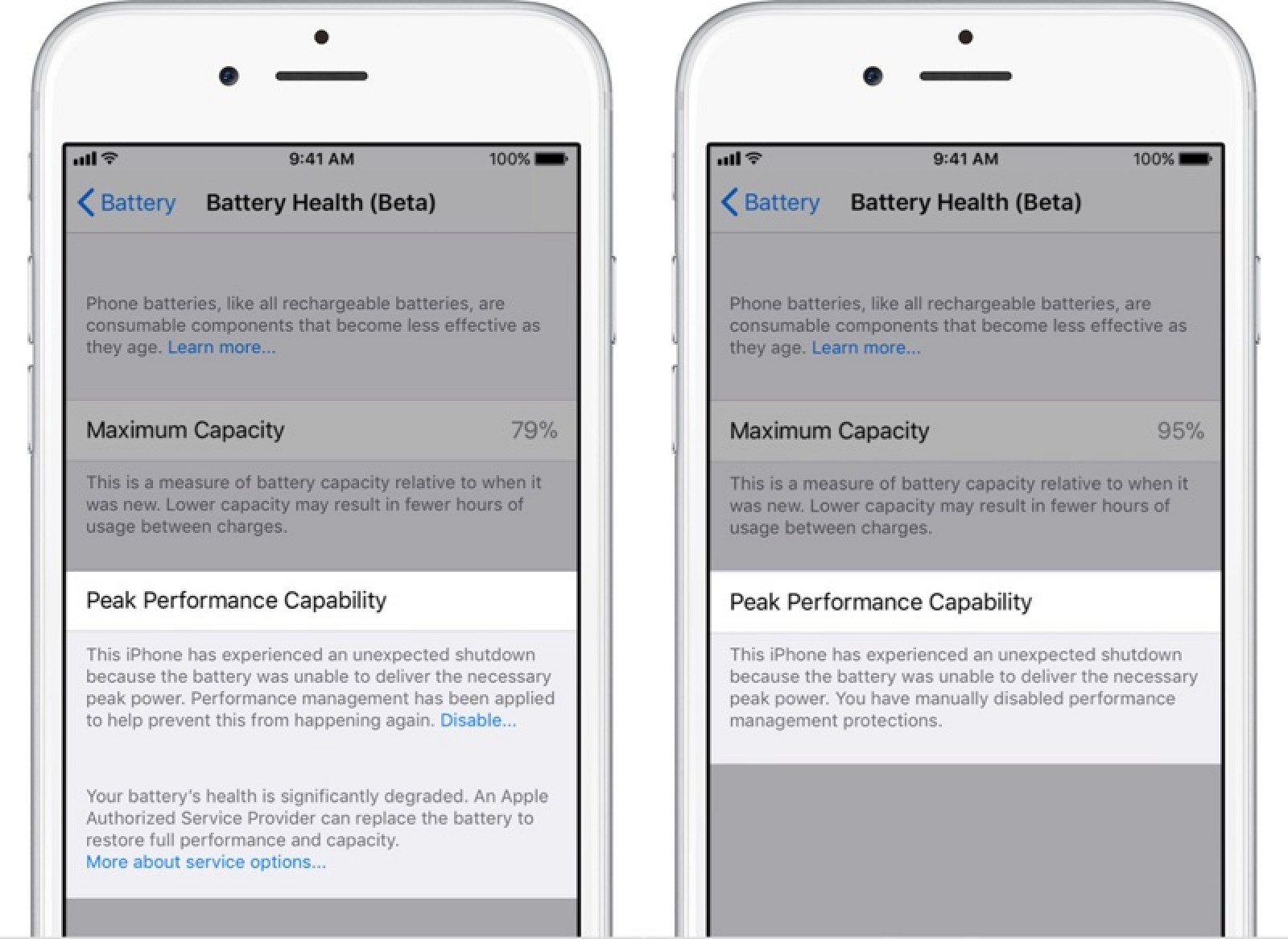 e9070fb8bdb78 How to Disable Apple s Performance Management Features in Older iPhones in  the iOS 11.3 Beta - MacRumors