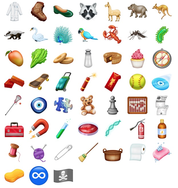Here Are 150+ New Emoji Coming to iPhones and iPads Later This Year - MacRumors