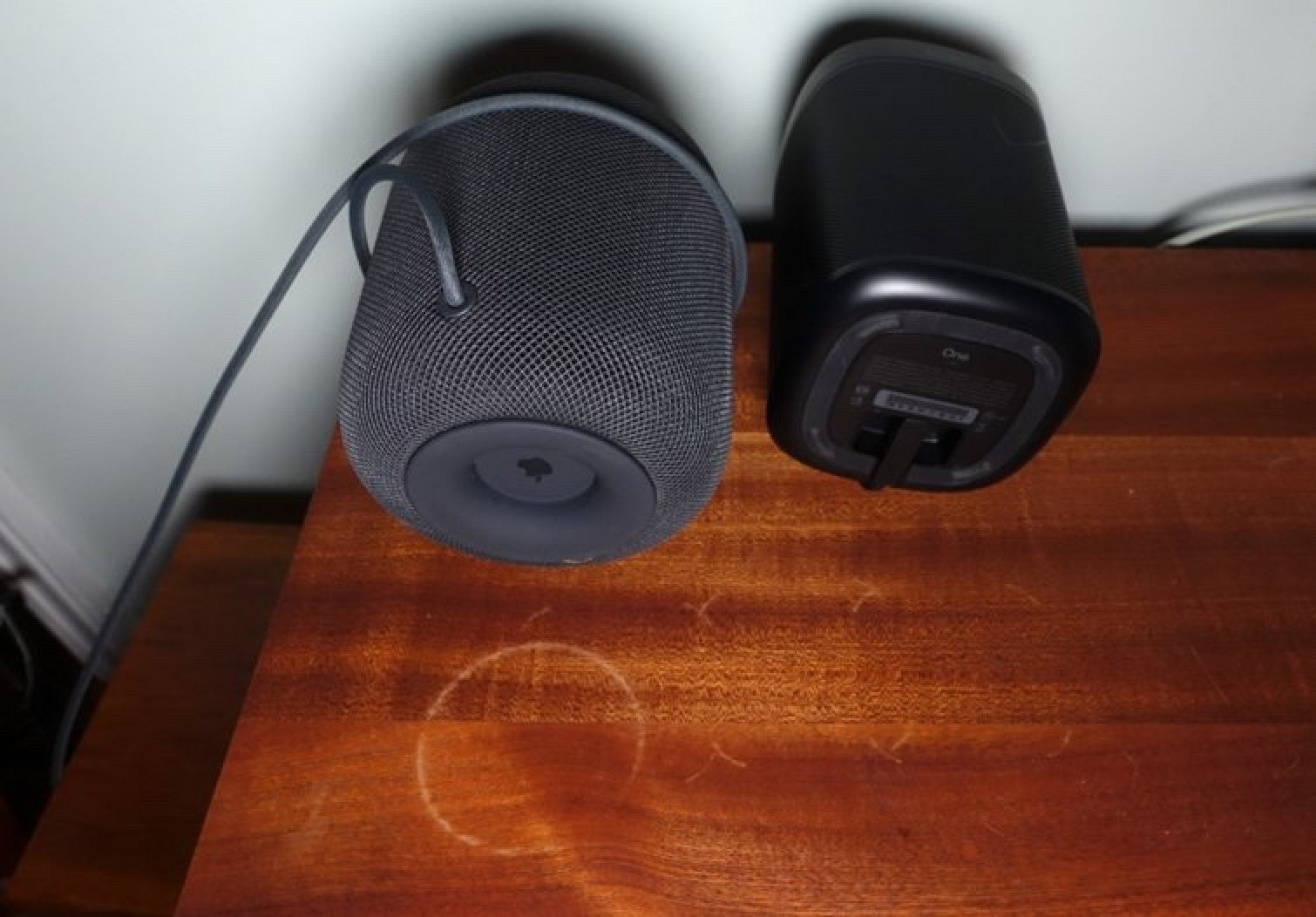 Like HomePod, Sonos One Leaves White Rings On Some