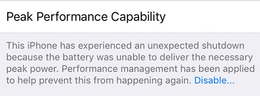 How to Disable Apple's Performance Management Features in Older iPhones in the iOS 11.3 Beta - 1