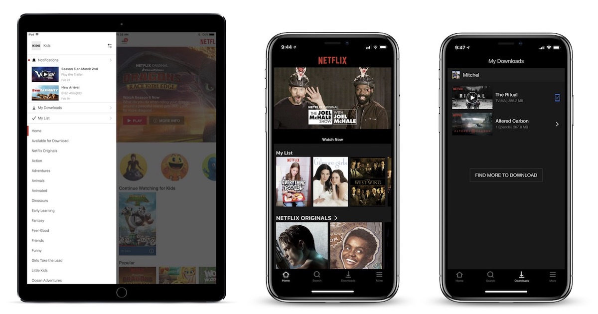 Netflix Rolling Out iOS Update That Adds Bottom Tab Bar for
