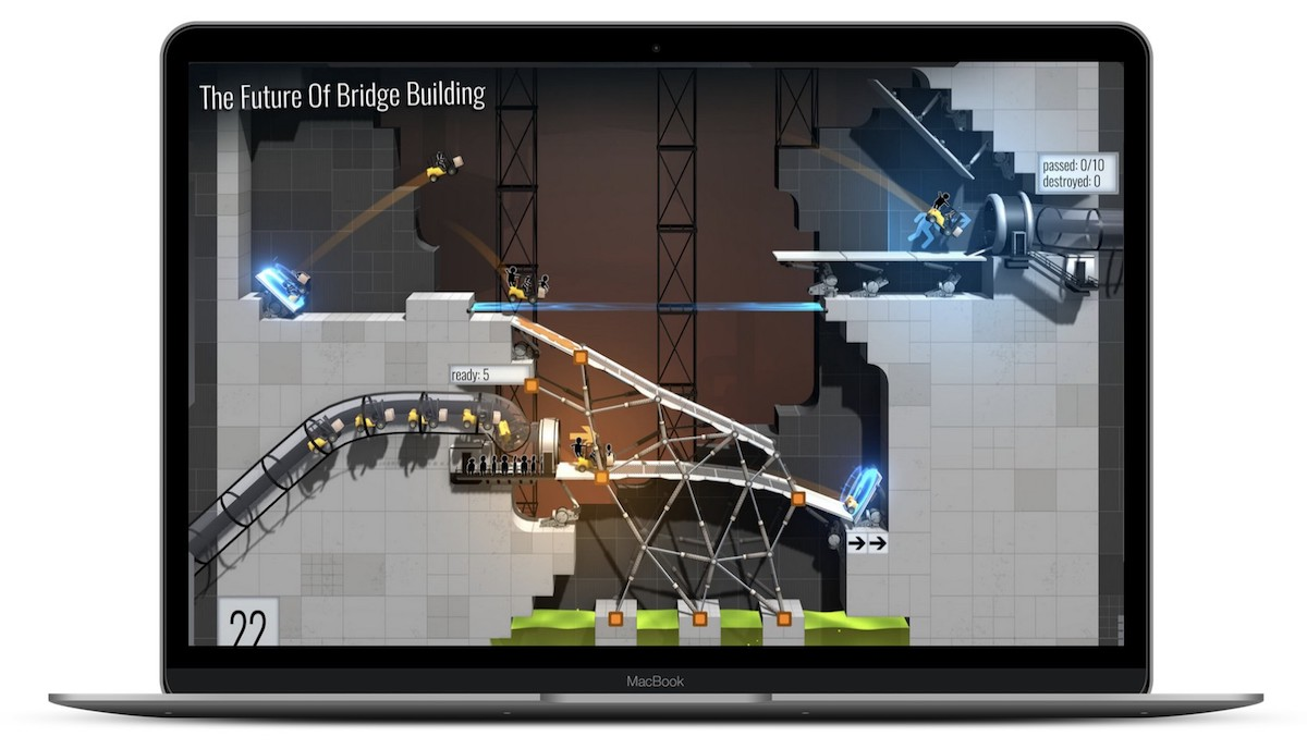 Bridge Constructor Portal' Launches on Mac App Store for