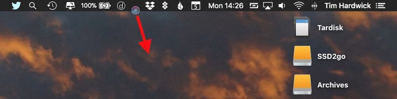 How to Add, Remove, and Rearrange Menu Bar Icons in macOS Mojave