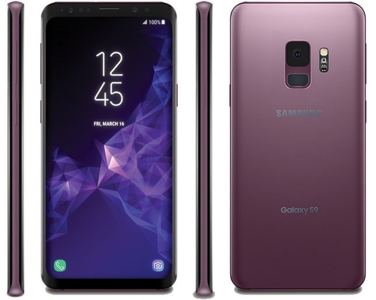 images of samsung 39 s galaxy s9 leak ahead of rumored february unveiling mac rumors. Black Bedroom Furniture Sets. Home Design Ideas