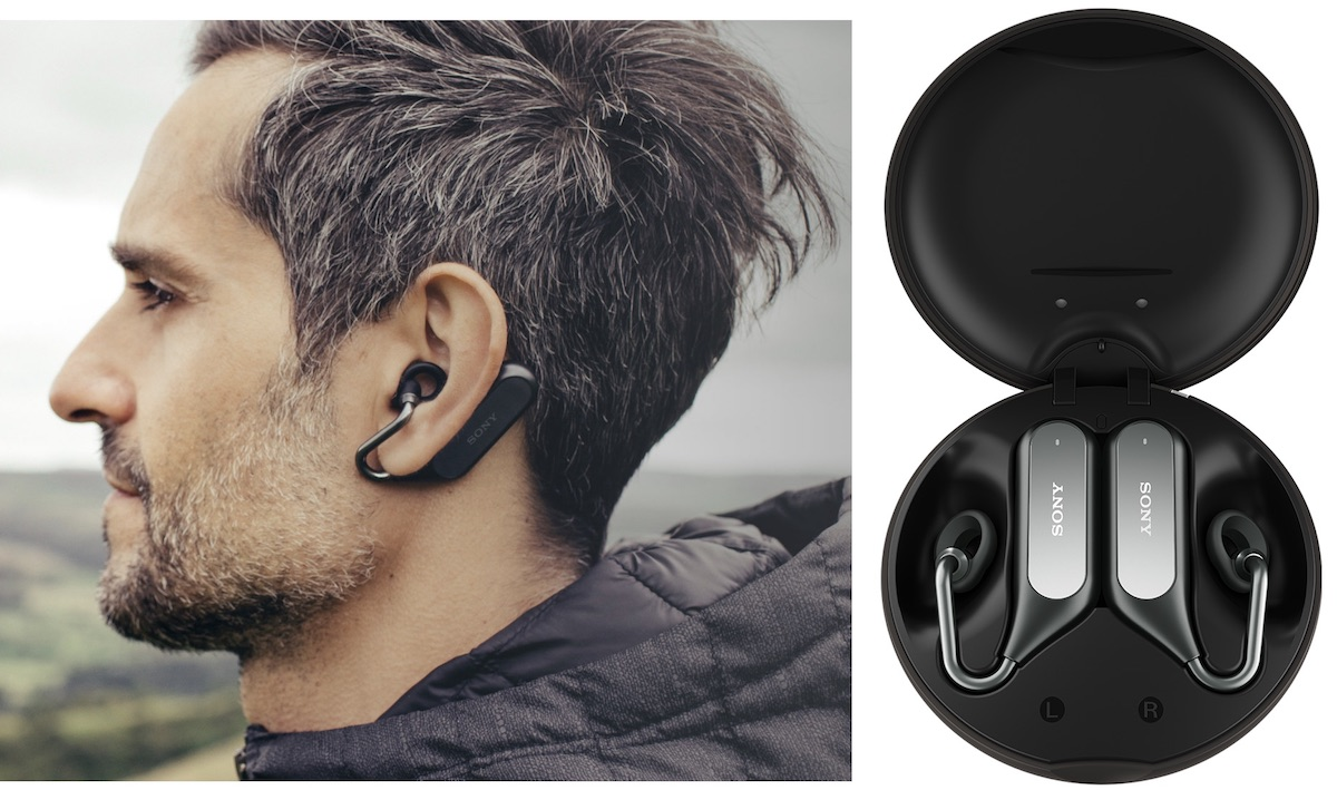 2fdd805e374 The Xperia Ear Duo doesn't block the ear canal, so you can hear your music  and the environment around you simultaneously.