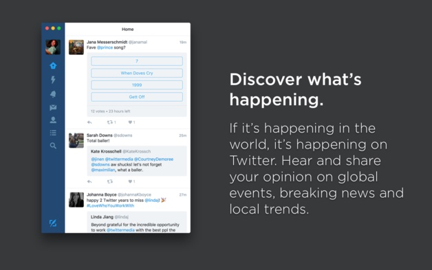The Almost Best Collection Of Apps And >> Twitter For Mac App Set To Return To Macos Macrumors