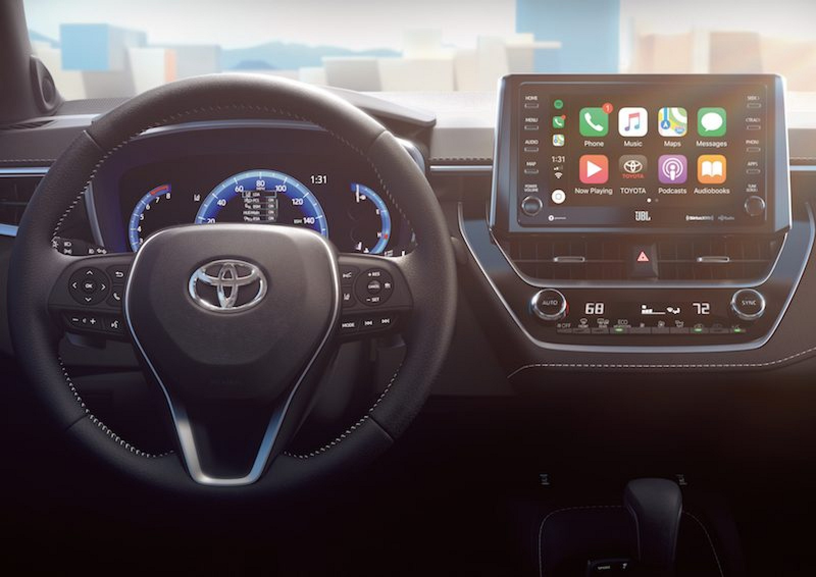 Toyota Continues Carplay Rollout With 2019 Corolla Hatchback Macrumors