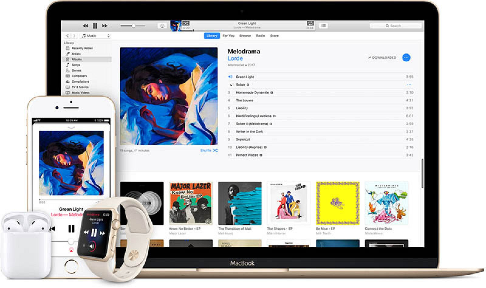 photo image Apple Music Growing at Record Pace With Two Million Subscribers Added in Just Five Weeks
