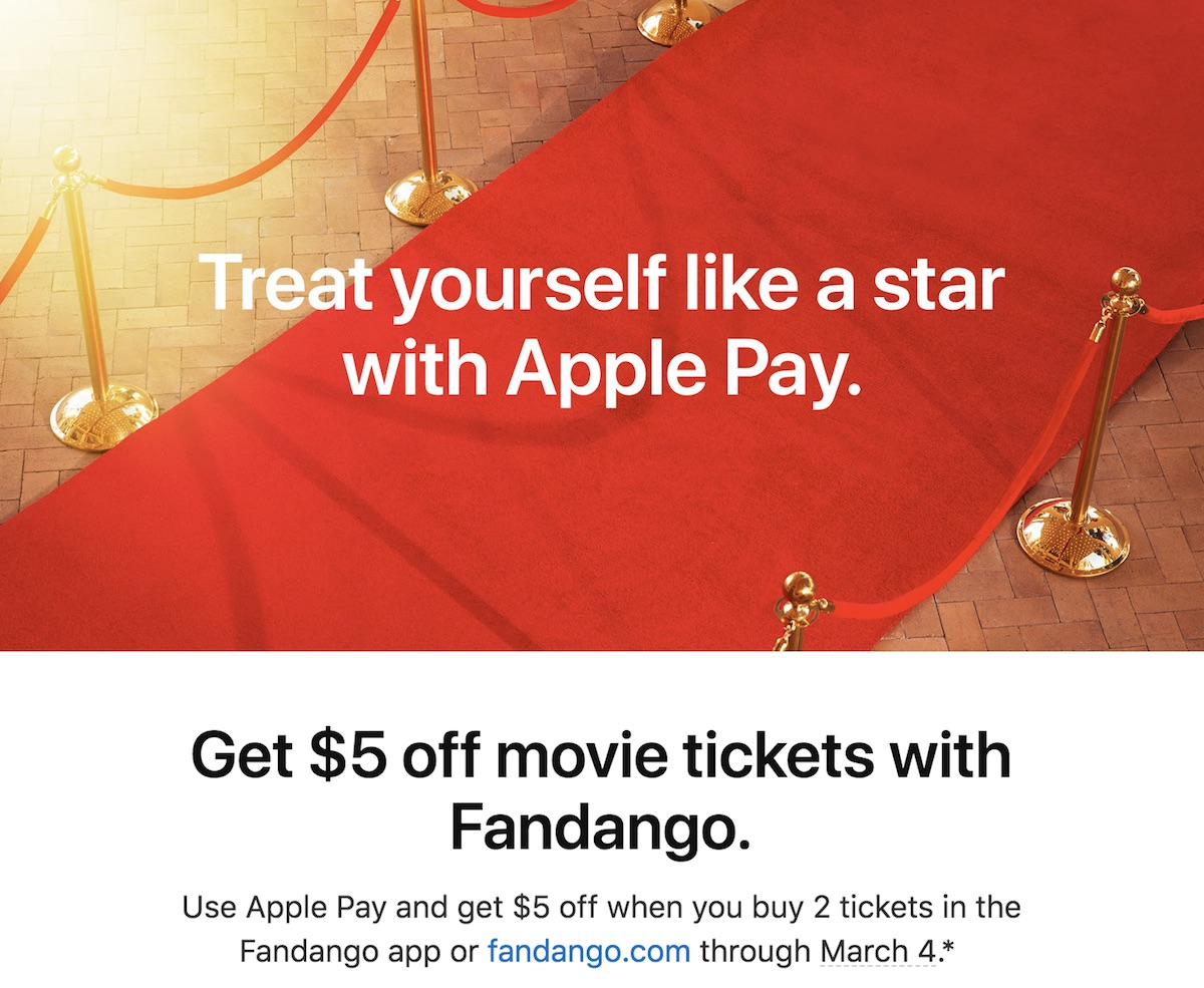 Movie tickets coupons 2018