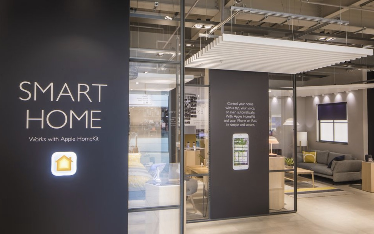 ... Apple And John Lewis Partnered In An Effort To Show London Residents  How HomeKit Products Can Enhance Their Homes, Showing Off Features Like  Siri Voice ...