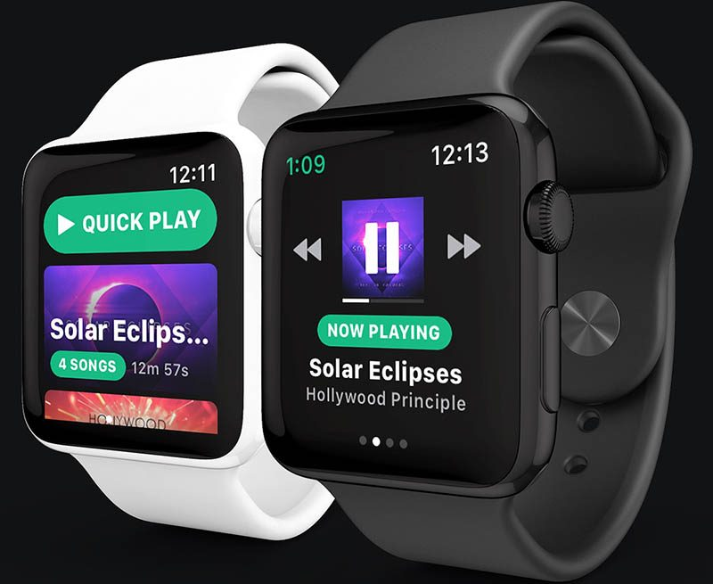 Quick Takes: Spotify for Apple Watch and StreamKit for